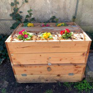 Jardinière lombricomposteur