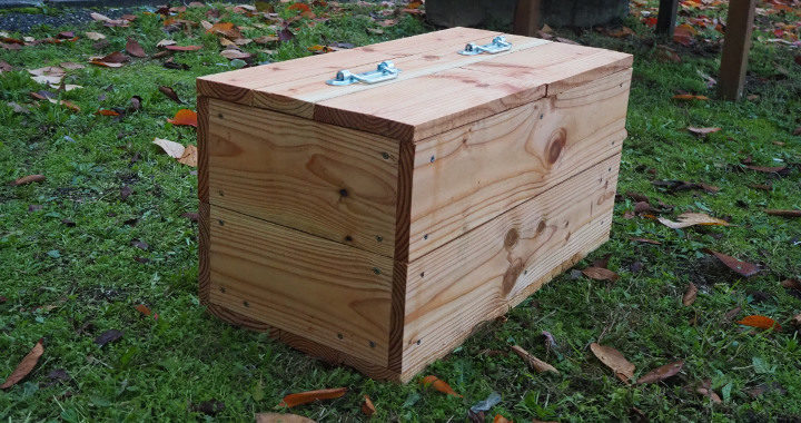 Lombricomposteur bois - mini lombricomposteur (1 à 2 personnes)